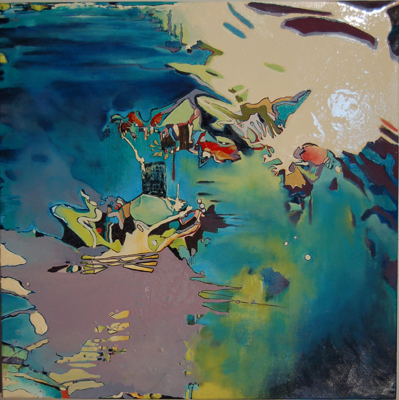 SOLD, Beyond the Horizon, 36 x 36, 2009