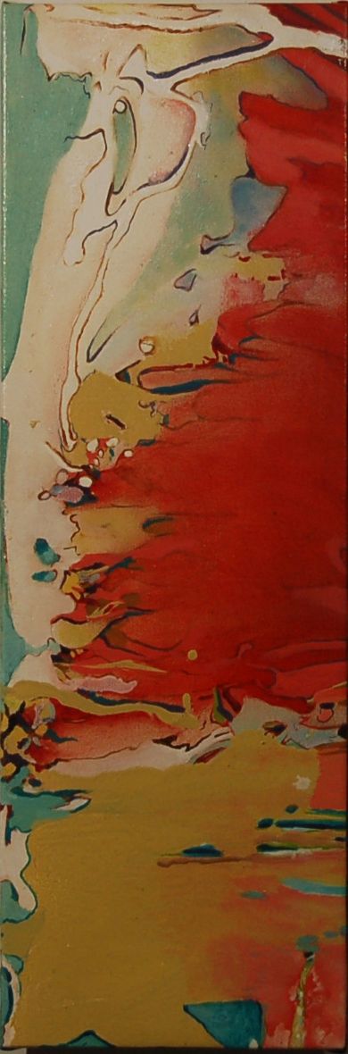 SOLD, Fire and Ice, 2008, 24 x 12, Mixed,